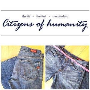 Citizens of Humanity Jeans.